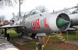 Mikoyan-Gurevich MiG-21U Mongol A