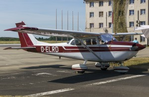 Reims-Cessna RF172F Rocked
